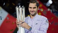 Tennis, Shanghai: Federer è straordinario, Nadal al tappeto